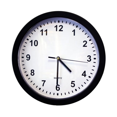 Hidden Camera Wall Clock - battery operated