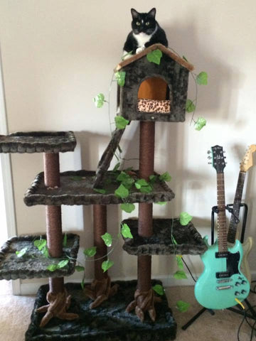 Yosemite Cat Tree by Kitty Mansions Cat Furniture
