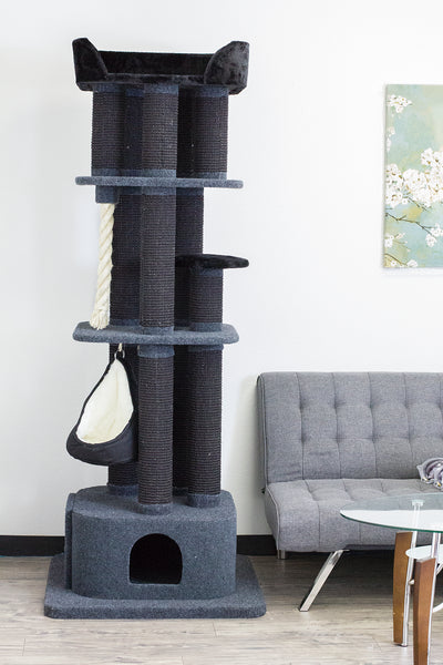 London Kitty Mansions cat tree furniture