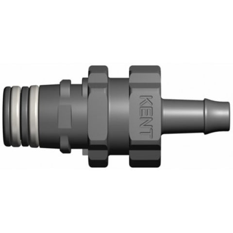 "1/4"" Barb QD Shut-Off Male 3BX216"