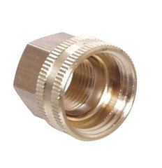 Brass Female Garden Hose Thread x 1/2'' FPT Swivel