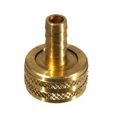 Brass Female Garden Hose Thread x 3/8'' Barb