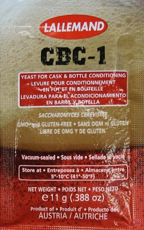 CBC-1 Cask & Bottle Conditioned Ale Yeast
