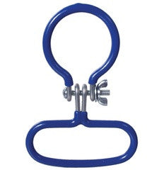 Carboy Handle Blue Threaded Neck