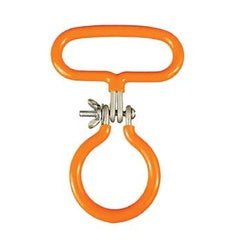 Carboy Handle Orange Smooth Neck