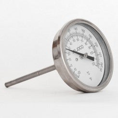 "Thermometer for Brew Pot 3"" Dial x 4"""