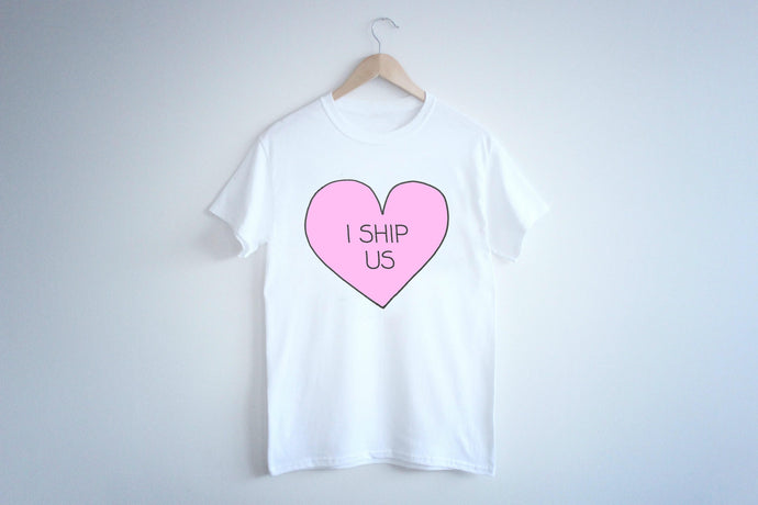 CAMISETA I SHIP US