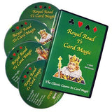 ROYAL ROAD TO CARD MAGIC 4DVDS - Diamond's Magic