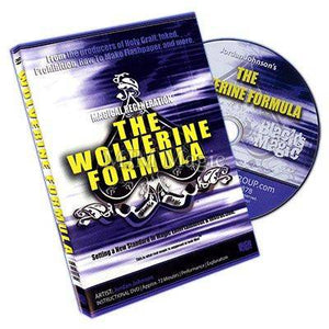 The Wolverine Formula by Jordan Johnson and Blacks Magic - DVD - Diamond's Magic