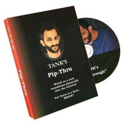 Pip-Thru by Tank Hanna - DVD - Diamond's Magic