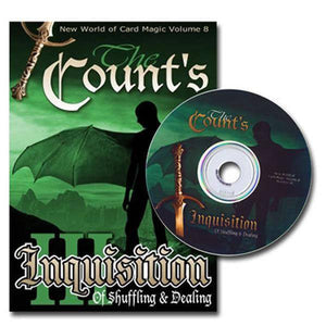 Counts Inquisition of Shuffling and Dealing- Vol3 by The Magic Depot - Diamond's Magic