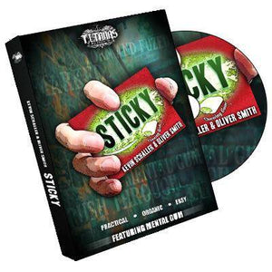 Sticky by Kevin Schaller and Oliver Smith (DVD) - Diamond's Magic