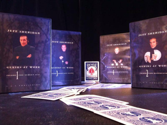 Jeff Sheridan Genius At Work - Volume 3 - Original Magic Creations - Diamond's Magic