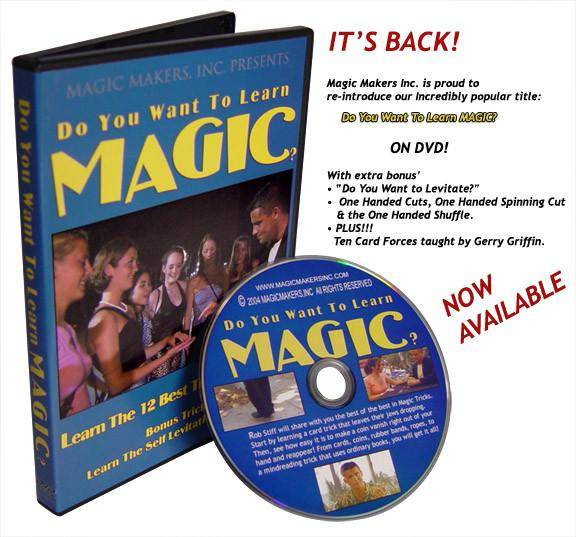 Do You Want To Learn Magic? Featuring Rob Stiff - Diamond's Magic