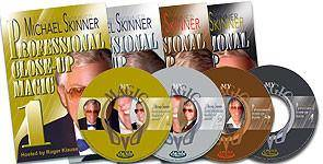 Michael Skinner's Professional Close-Up Magic -- Volume 4 (DVD) - Diamond's Magic