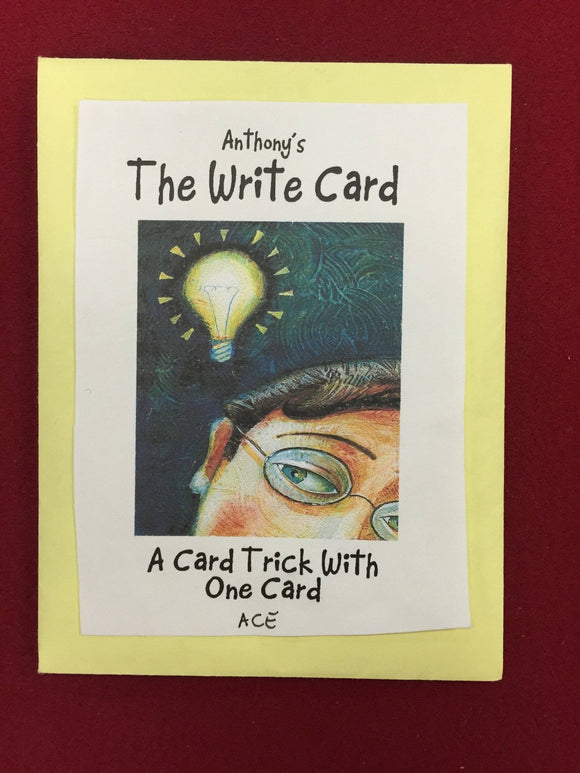 WRITE CARD - Diamond's Magic