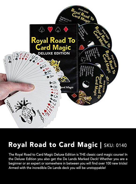 ROYAL ROAD TO CARD MAGIC 4DVDS