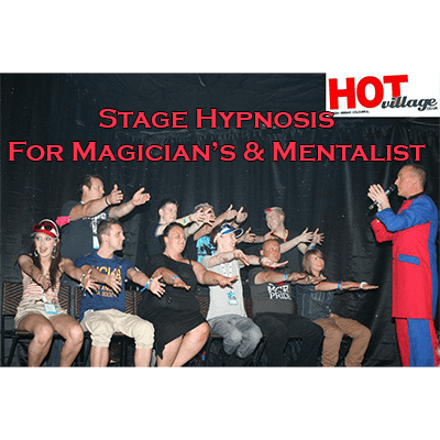 Stage Hypnosis for Magicians & Mentalists by Jonathan Royle - eBook DOWNLOAD - Diamond's Magic