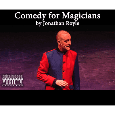 Comedy for Magicians by Jonathan Royle - eBook DOWNLOAD - Diamond's Magic