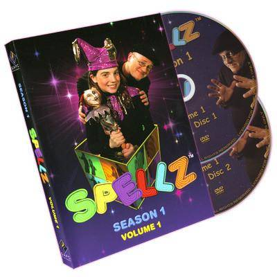 Spellz - Season One - Volume One (Featuring Jay Sankey) by GAPC Entertainment - DVD - Diamond's Magic