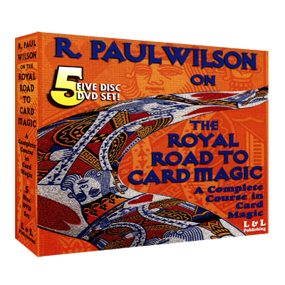 Royal Road To Card Magic by R. Paul Wilson video DOWNLOAD - Diamond's Magic