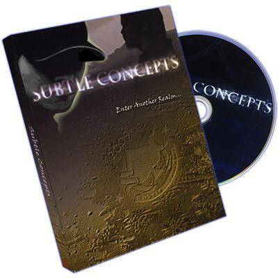Subtle Concepts by Richard Hucko and Jo Sevau - DVD - Diamond's Magic