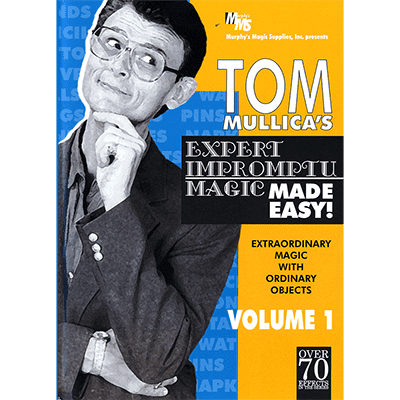 Mullica Expert Impromptu Magic Made Easy Tom Mullica - Volume 1, video DOWNLOAD - Diamond's Magic