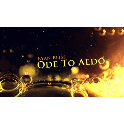Ode To Aldo by Ryan Bliss video DOWNLOAD - Diamond's Magic