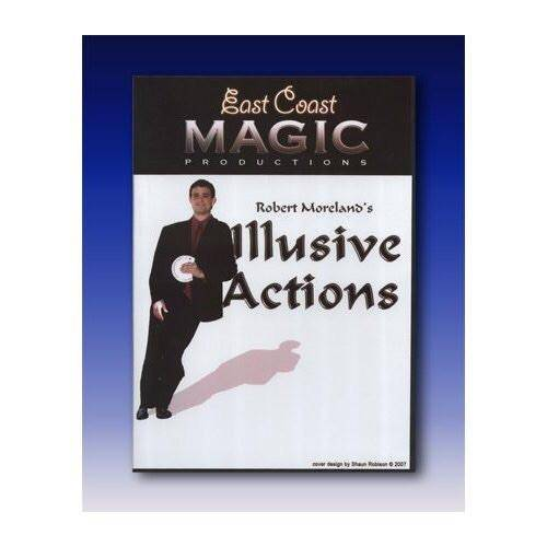 Robert Moreland's Illusive Actions by East Coast Magic - DVD - Diamond's Magic