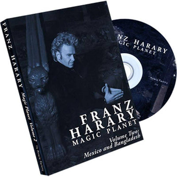 Magic Planet vol. 2- Mexico and Bangladesh by Franz Harary and The Miracle Factory - Diamond's Magic