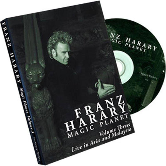 Magic Planet vol. 3- Live in Asia and Malaysia by Franz Harary and The Miracle Factory - Diamond's Magic