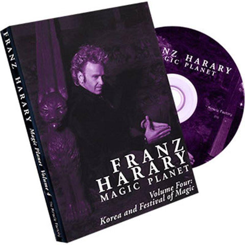 Magic Planet vol. 4- Korea and The Seoul Festival of Magic by Franz Harary and The Miracle Factory - Diamond's Magic