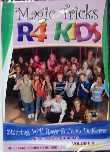 Magic Tricks R4 Kids Vol. 4 - Diamond's Magic