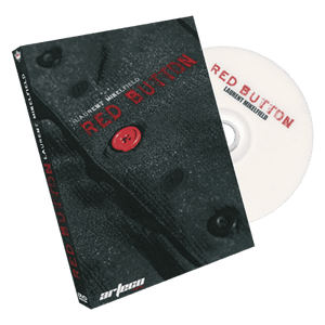 Red Button (DVD and Gimmick) by Laurent Mikelfield PAL version - DVD - Diamond's Magic