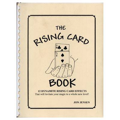 Rising Card book Jon Jensen - Diamond's Magic