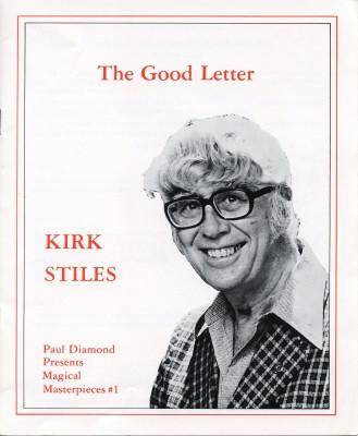 GOOD LETTER by Kirk Styles - Diamond's Magic