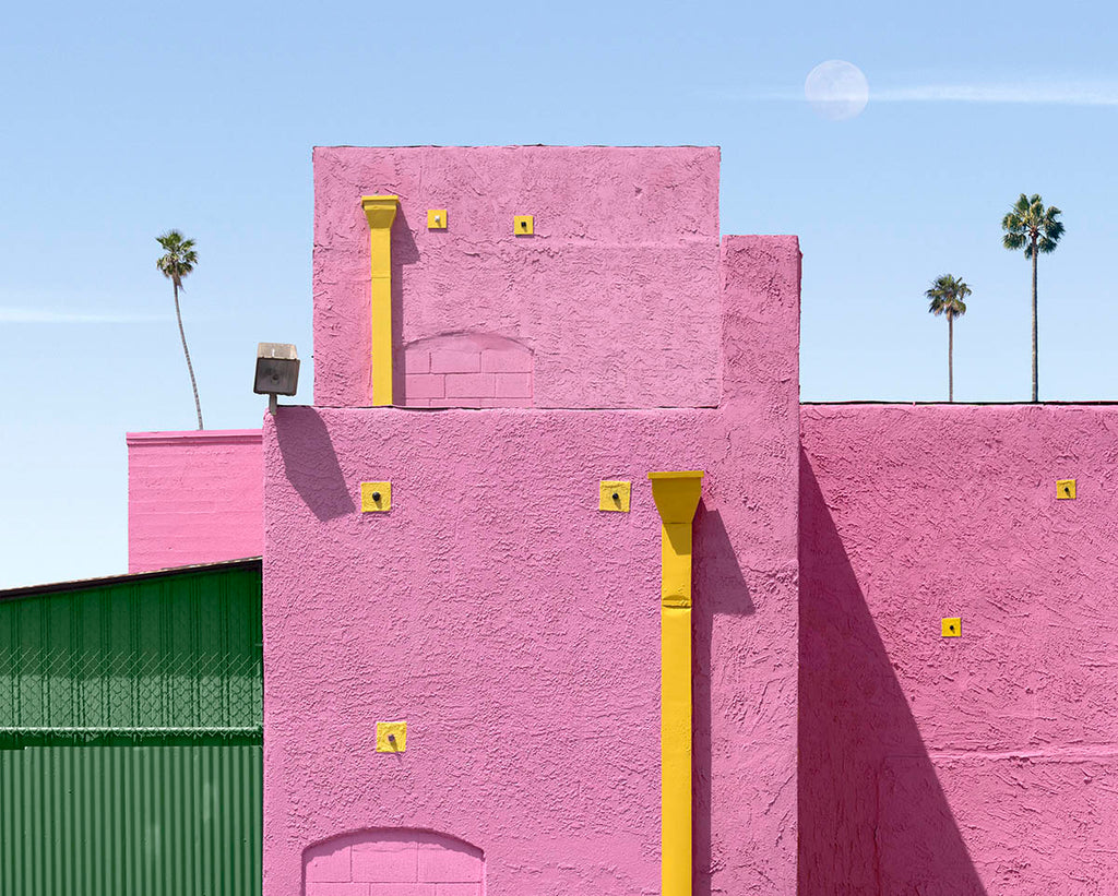 George Byrne photograph of Los Angeles available through Bau-Xi Gallery | Art Gallery in Toronto and Vancouver