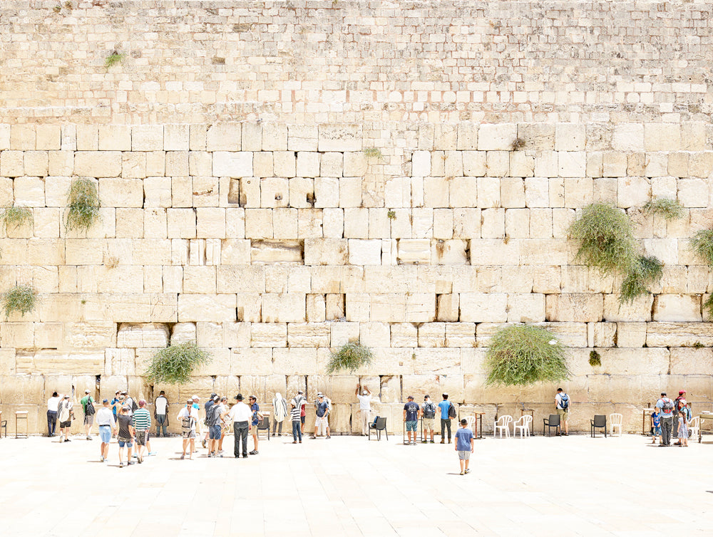 Joshua Jensen-Nagle, The Western Wall, presented by Bau-Xi Gallery