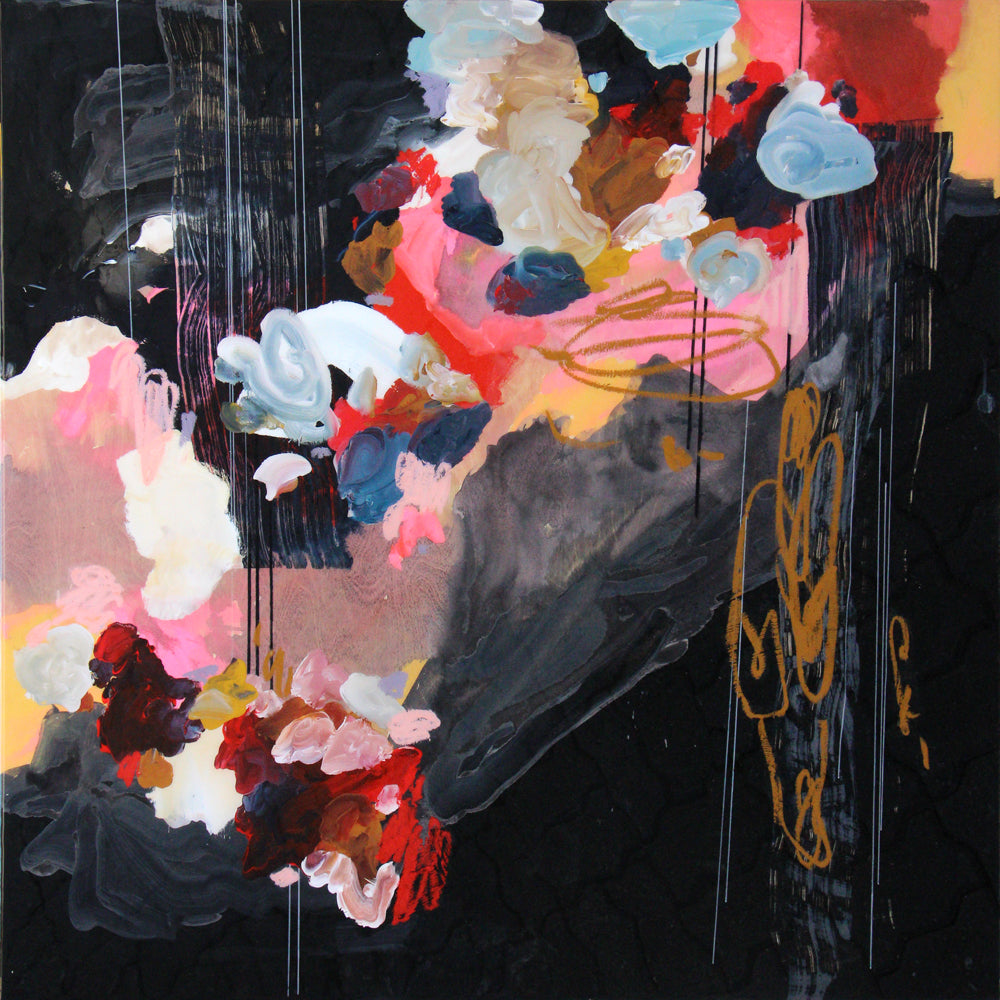 Janna Watson abstract painting presented by Bau-Xi Gallery