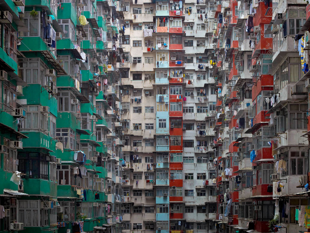 Michael Wolf, Architecture Of Density 119, Bau-Xi Gallery