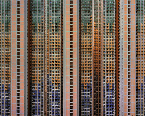 Michael Wolf photography, Architecture of Density series, presented by Bau-Xi Gallery