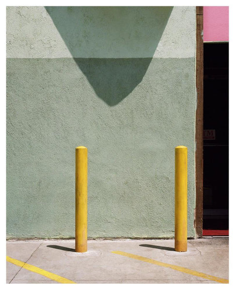 George Byrne - Temple St - 2 sizes, $2,500-$6,000, Archival Pigment Print on Archival Substrate, Framed in White,  - Bau-Xi Gallery