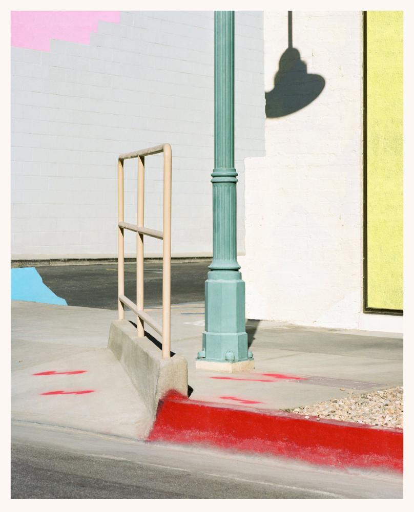 George Byrne - Corner Composition, Palm Springs, Archival Pigment Print on Archival Substrate,  - Bau-Xi Gallery