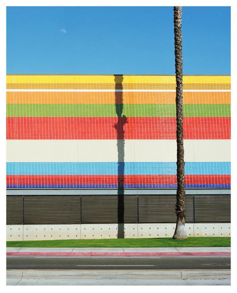 George Byrne Artwork | Colourful, bright, geometric architectural photographs of city streets in Miami, Los Angeles and Palm Springs.