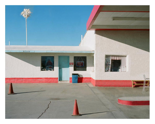 George Byrne - Gas Station, Route 66, Archival Pigment Print on Archival Substrate,  - Bau-Xi Gallery