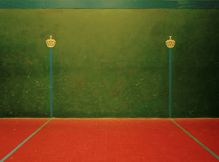 Elliott Wilcox - Real Tennis 04 - 3 sizes, $2,200-$9,600, Chromogenic Print Mounted to Archival Substrate, Framed in White with Non-Reflective Plexiglass,  - Bau-Xi Gallery