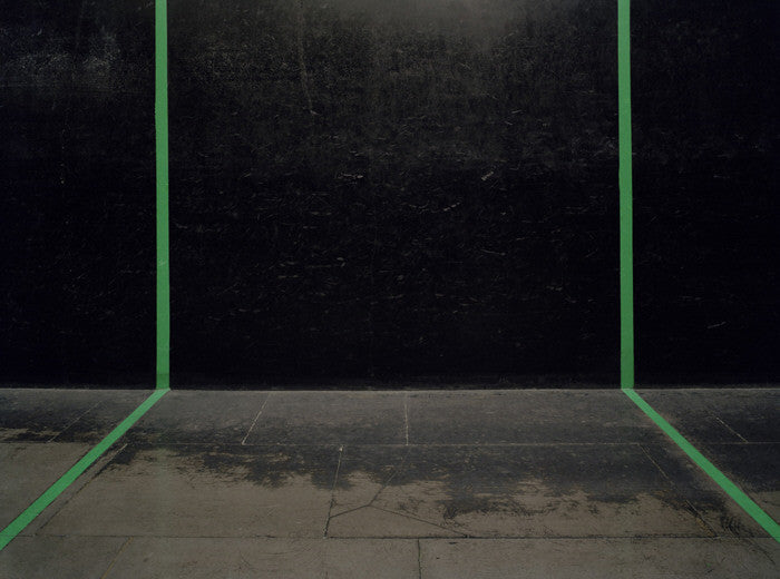 Elliott Wilcox - Real Tennis 06 - 3 sizes, $2,200-$9,600, Chromogenic Print Mounted to Archival Substrate, Framed in White with Non-Reflective Plexiglass,  - Bau-Xi Gallery