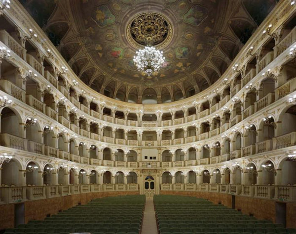David Leventi - Teatro Comunale di Bologna, Bologna, Italy - 3 sizes, $10,600-$31,500, Fujicolor Crystal Archive Print Mounted on Archival Substrate, Framed in White with Plexiglass,  - Bau-Xi Gallery