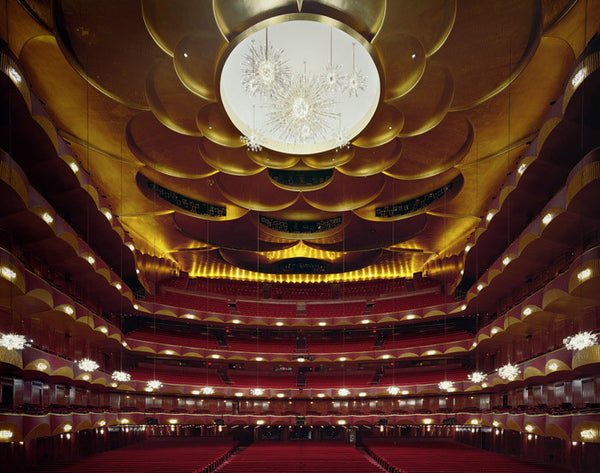 David Leventi - Metropolitan Opera House, New York, New York - 3 sizes, $10,600-$31,500, Fujicolor Crystal Archive Print Mounted on Archival Substrate, Framed in White with Plexiglass,  - Bau-Xi Gallery