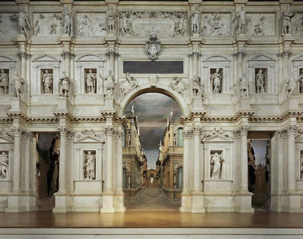 David Leventi - Teatro Olimpico, Vicenza, Italy - 3 sizes, $11,450-$33,950, Fujicolor Crystal Archive Print Mounted on Archival Substrate, Framed in White with Plexiglass,  - Bau-Xi Gallery